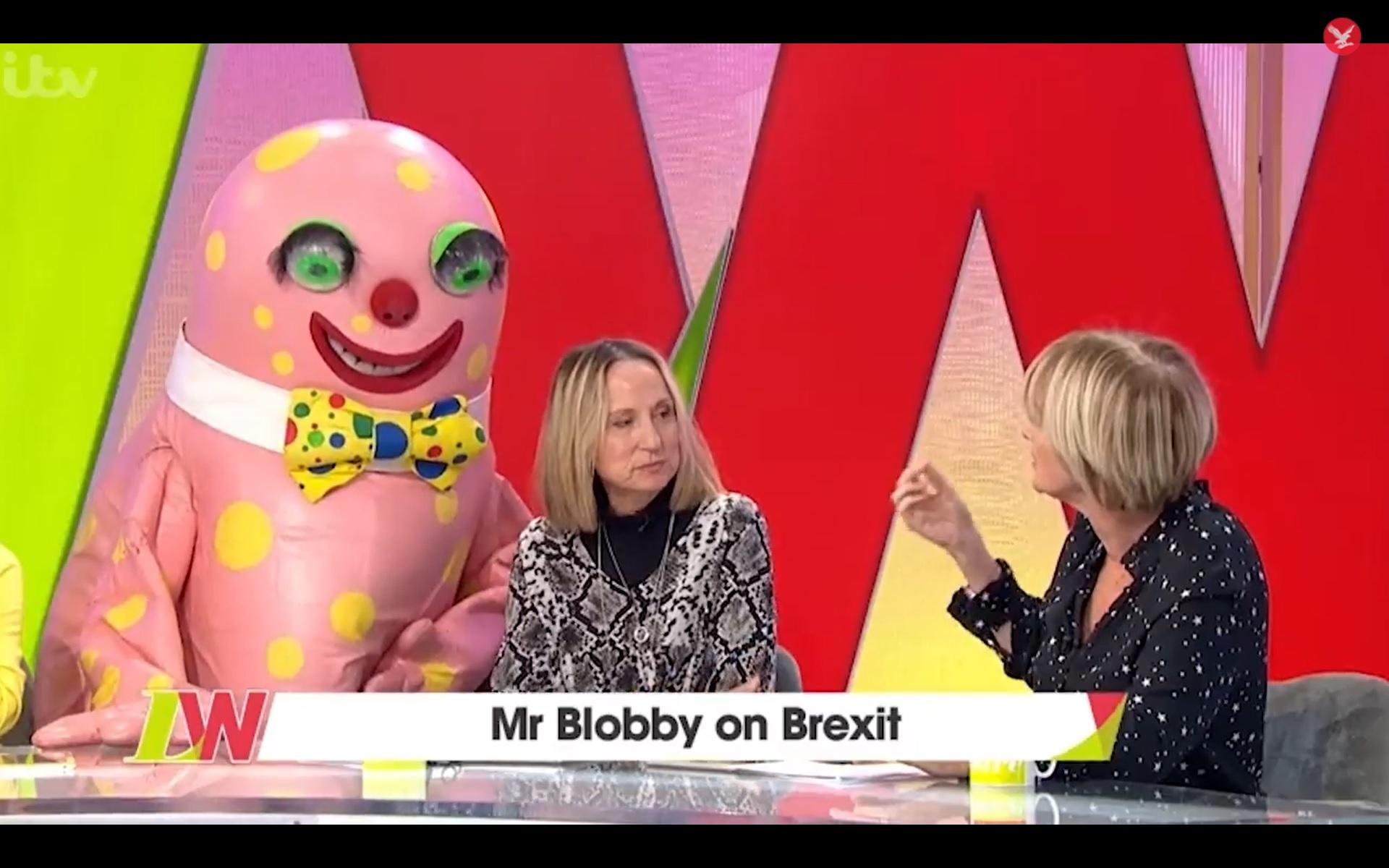 Loose Women Discuss Brexit With Mr Blobby The Independent
