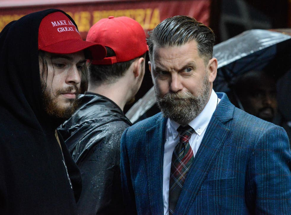 McInnes was recruited just days ago to host a show called Get Off My Lawn