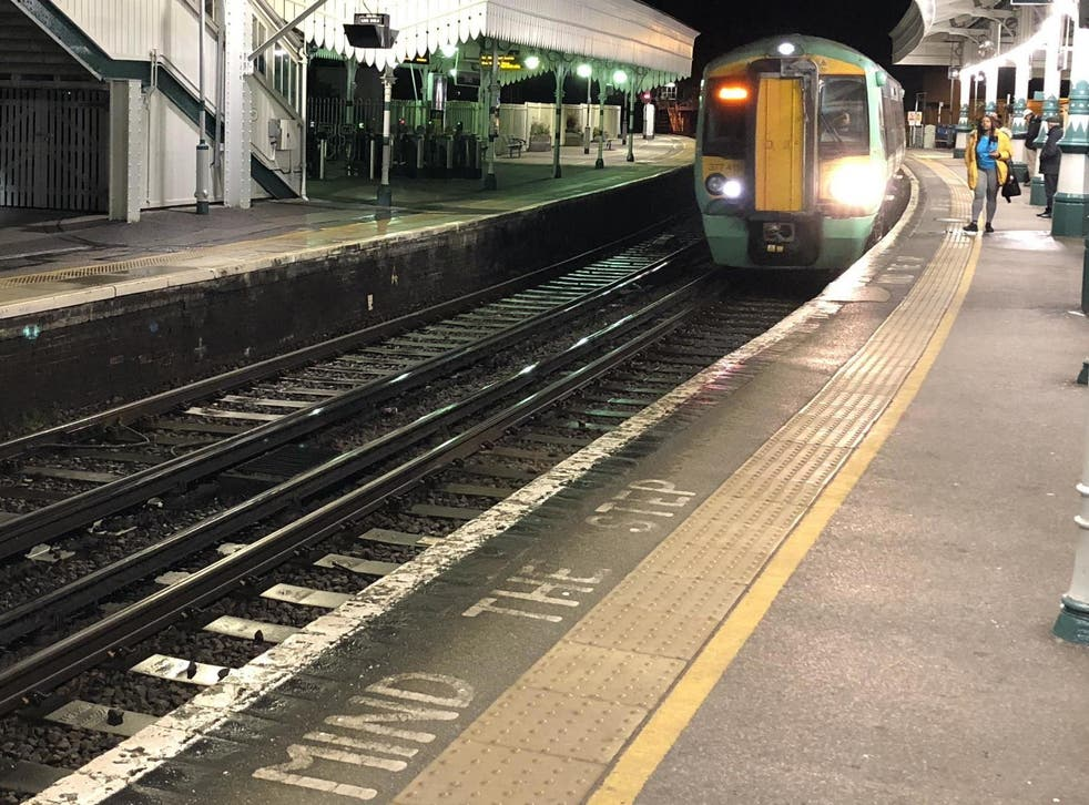 The Lewes train station