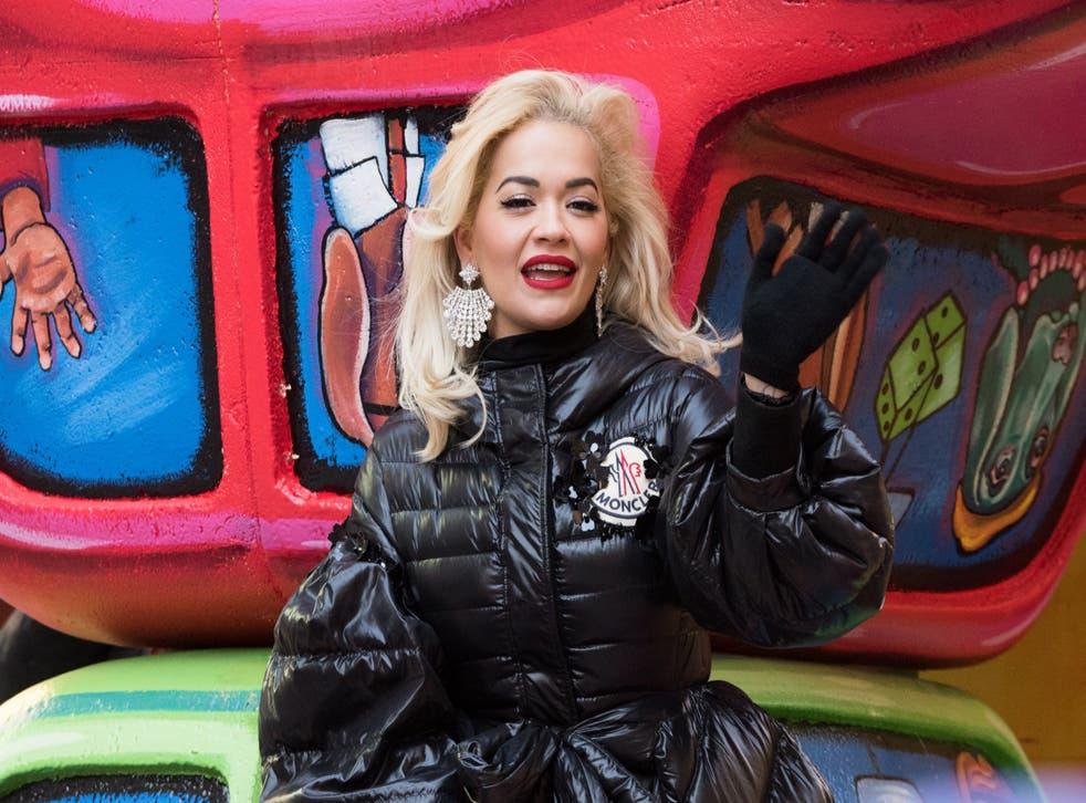 Rita Ora at the Macy's Thanksgiving Parade