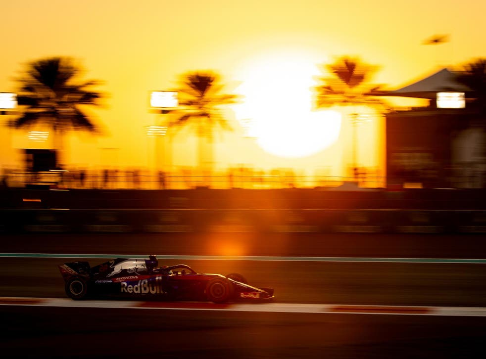 The F1 season comes to an end on Sunday
