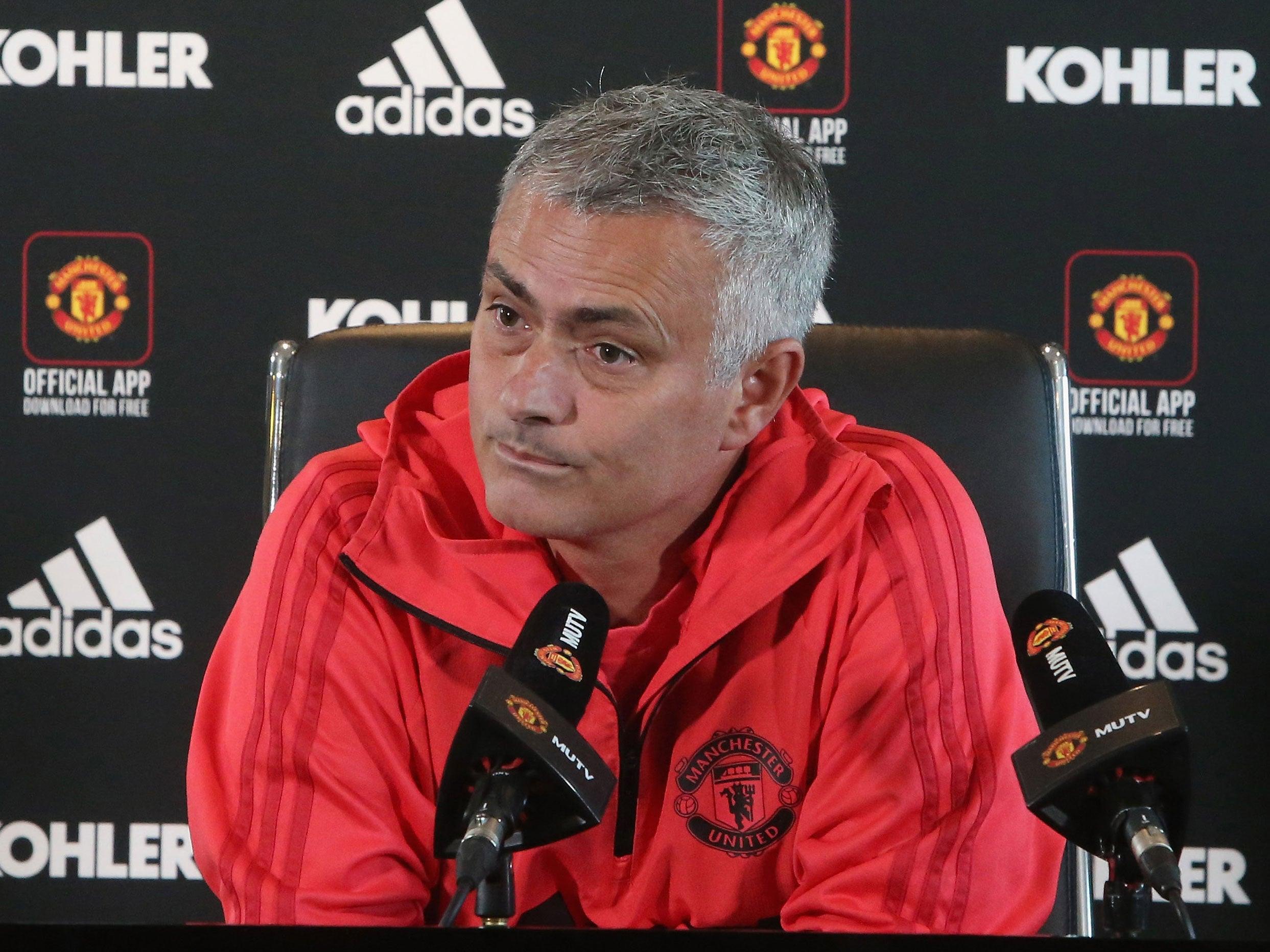 Manchester United manager Jose Mourinho claims Romelu Lukaku injury was behind Belgium trip