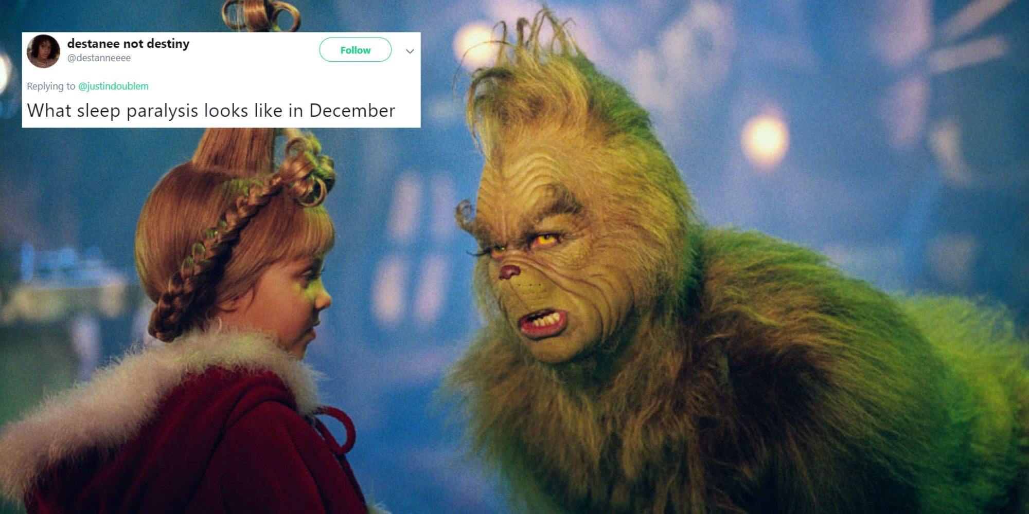 This Meme From The Grinch Is Perfect For Everyone Who Hates The Holiday Season Indy100