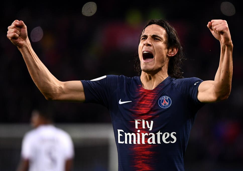 Image result for cavani psg