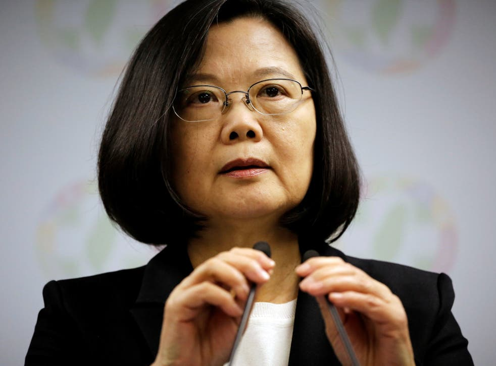 Tsai Ing-wen announces her resignation as chairwoman of the Democratic Progressive Party (DPP) after local elections in Taipei, Taiwan