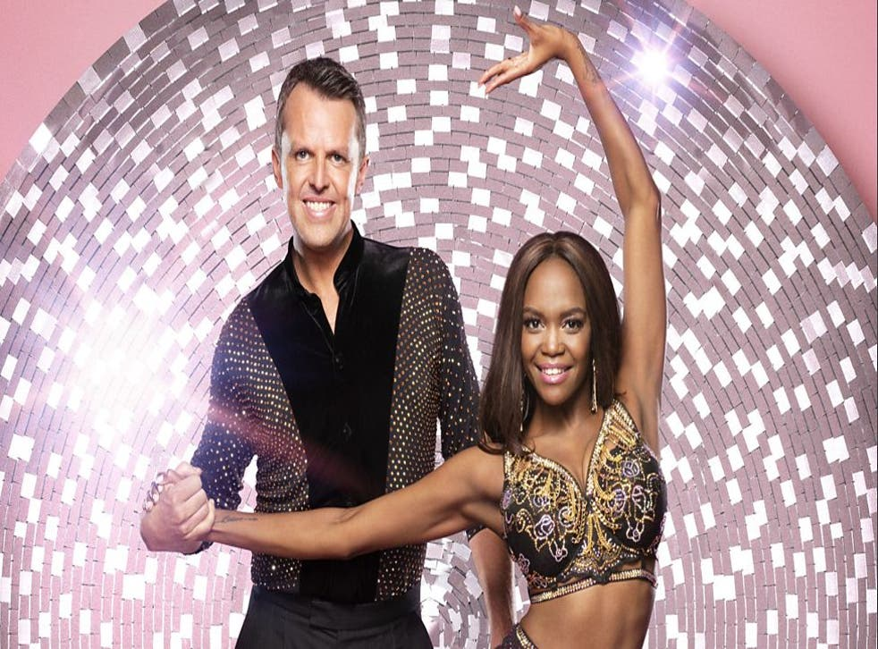 Graeme and Oti on Strictly Come Dancing