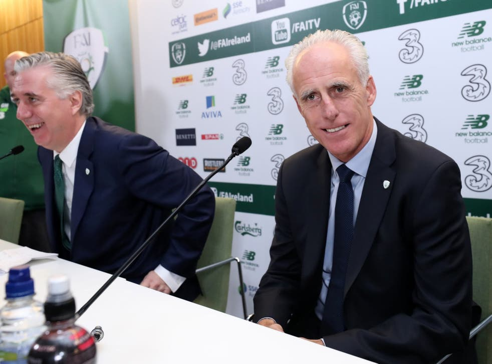 Mick McCarthy is back in the Republic of Ireland hot-seat