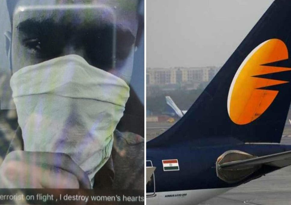 Jet Airways passenger arrested for pranking