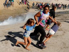 US troops fire tear gas at migrant children on Mexico border