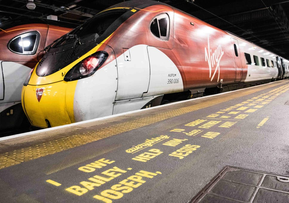 Virgin Trains Paints Its A Wonderful Life Quotes On Platforms To