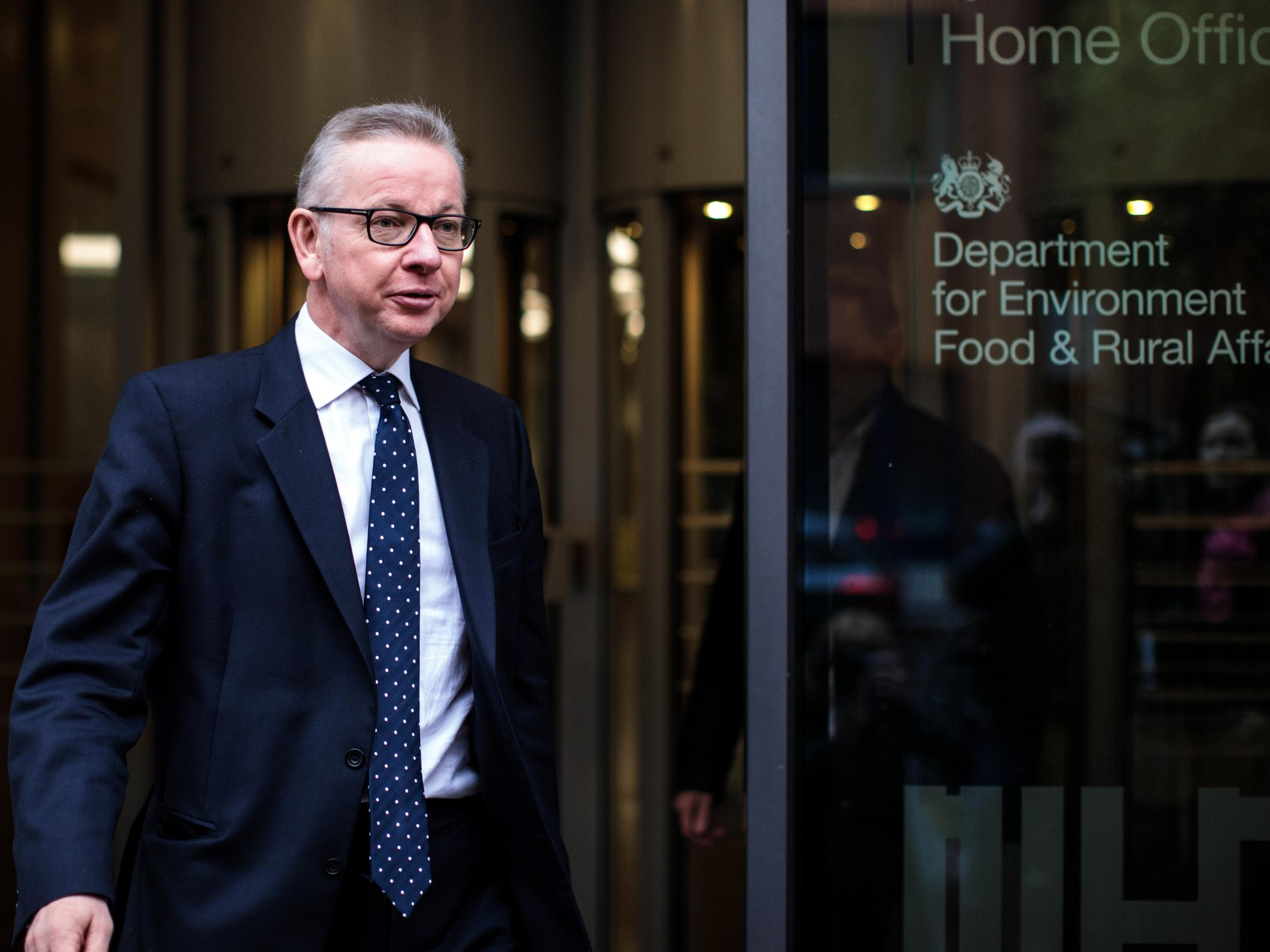 Michael Gove suggests Philip Hammond is wrong about post-Brexit economic damage