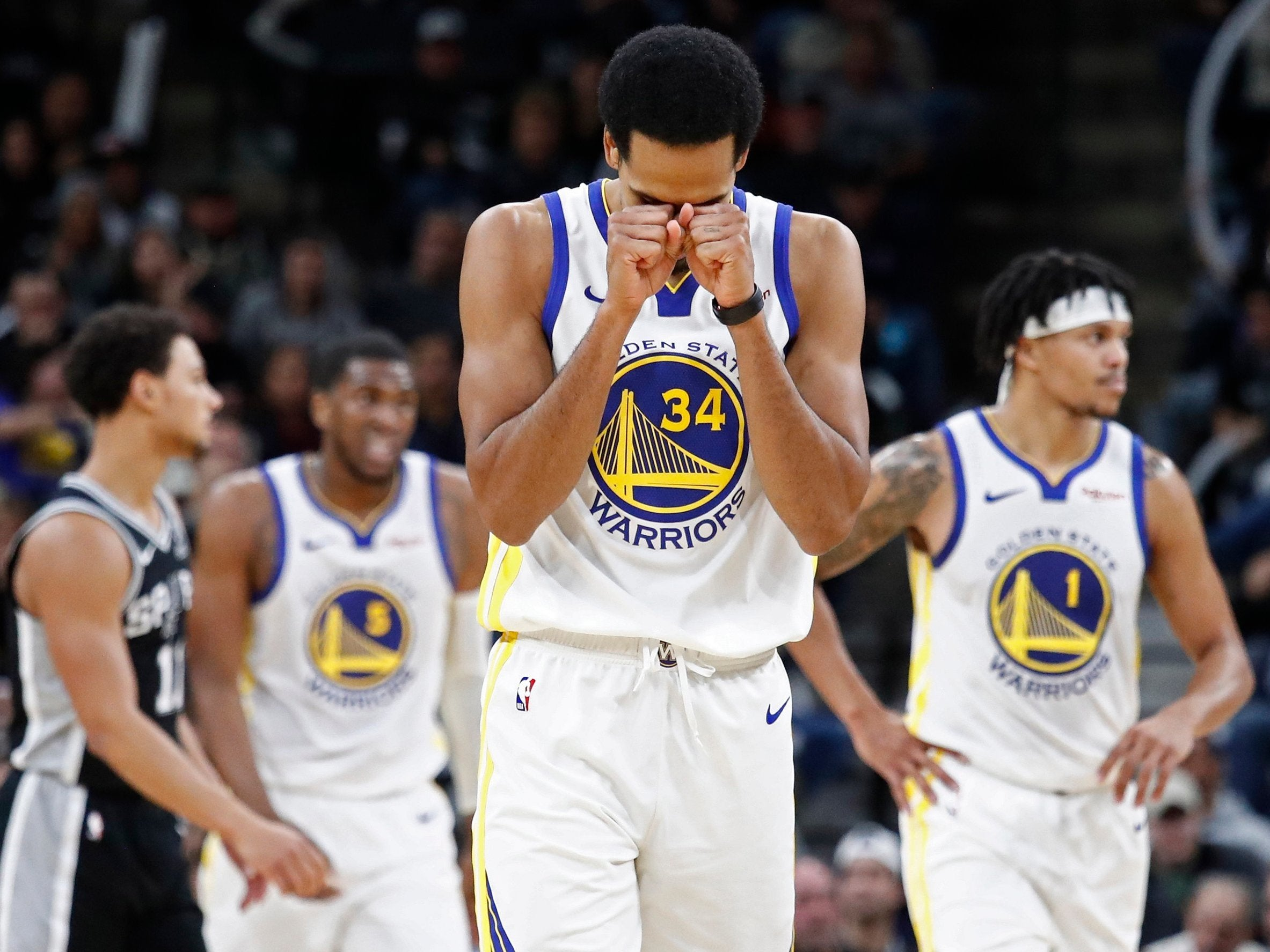 What's wrong with the Golden State Warriors? Maybe that's ...