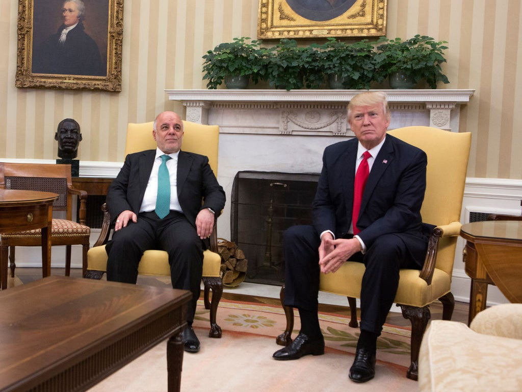 Trump 'asked Iraqi prime minister for oil as repayment for Iraq War'