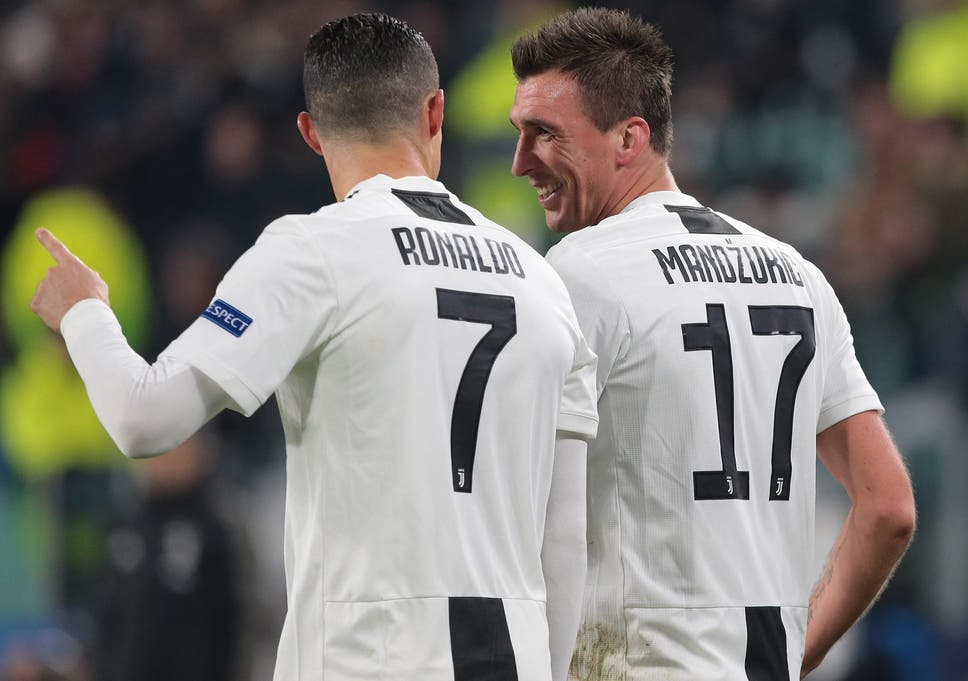 champions league juventus top group thanks to cristiano ronaldo