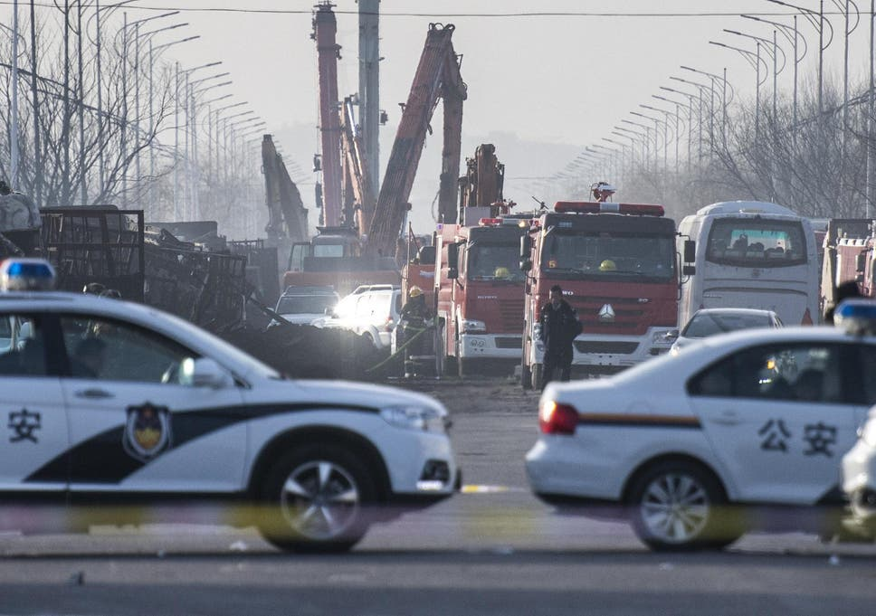 china explosion at least 23 people killed in blast at chemical rh independent co uk