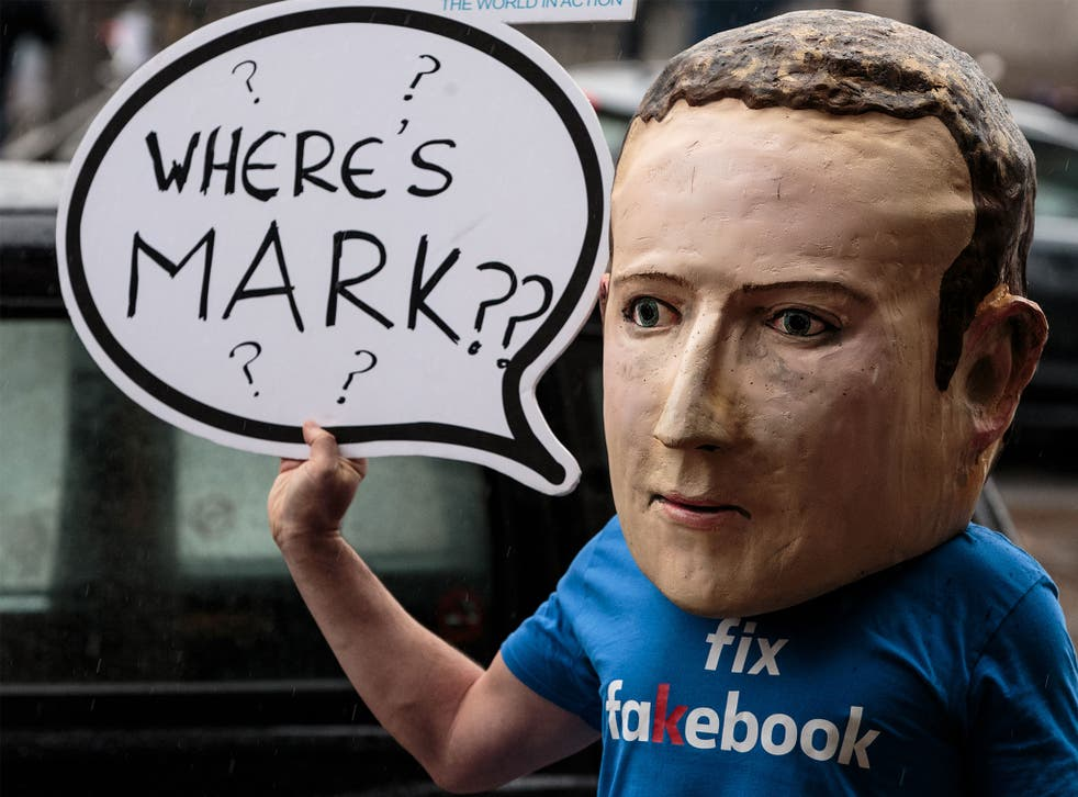 """Mark Zuckerberg said he is """"unable"""" to face questioning from international committee on Facebook's handling of misinformation online"""