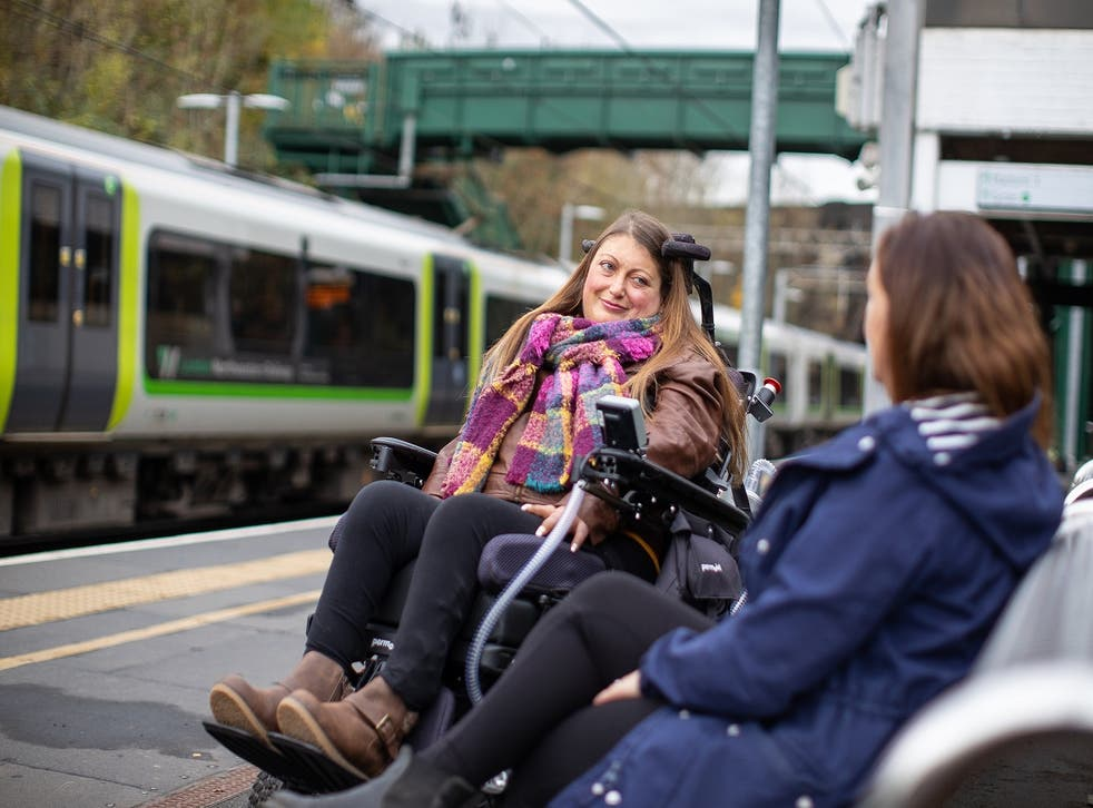 Rail passengers with disabilities can rarely travel spontaneously