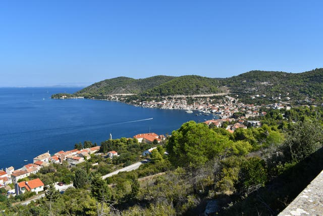 Marvel at the breathtaking views over the Adriatic Sea