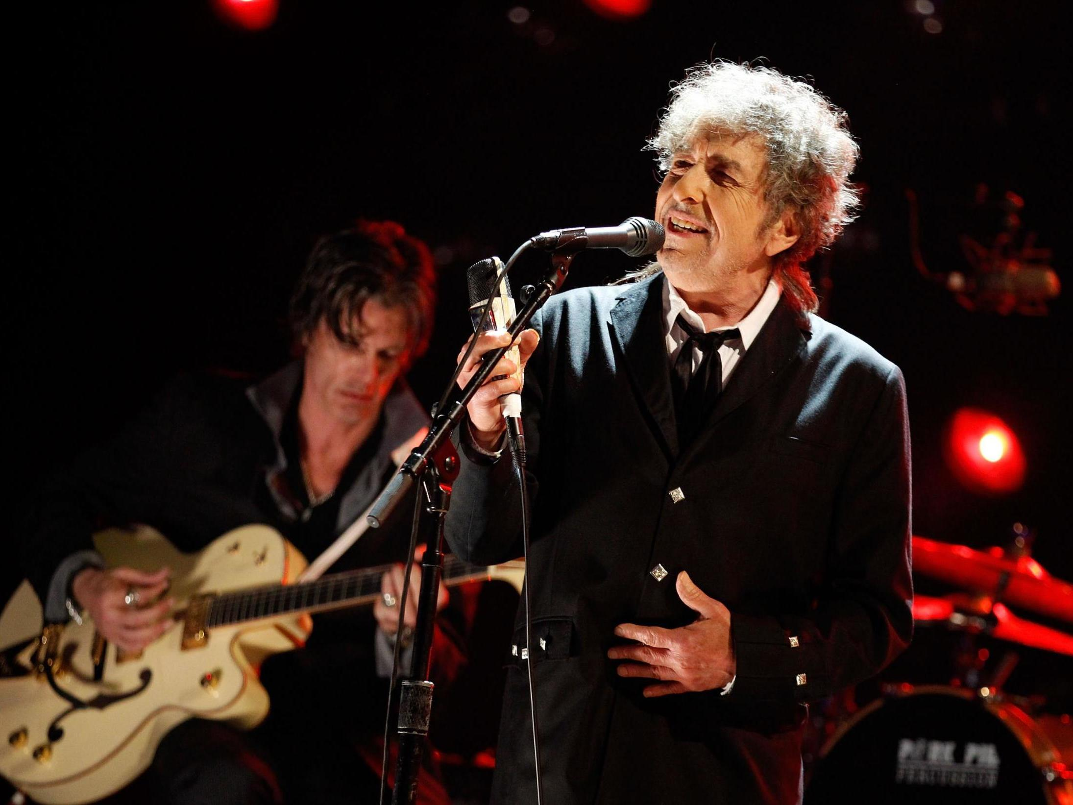 Bob Dylan in Hyde Park? He is still an icon but live he