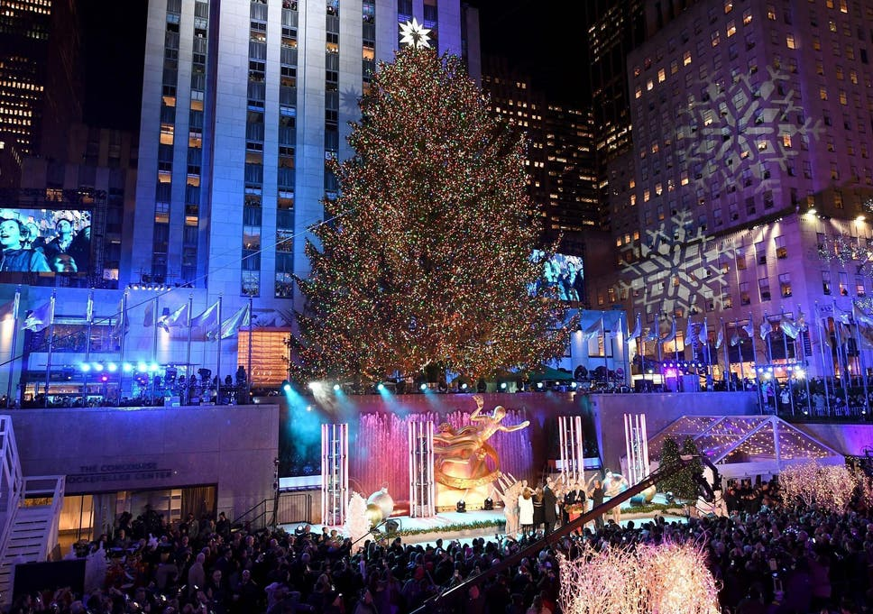 Rockefeller Tree Lighting 2018: Who's performing and how can you watch it  live? - Rockefeller Tree Lighting 2018: Who's Performing And How Can You