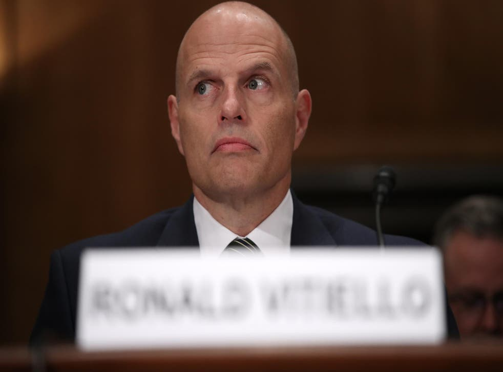 The vote to confirm Ronald Vitiello as the head of Immigration and Customs Enforcement (ICE) has been delayed.