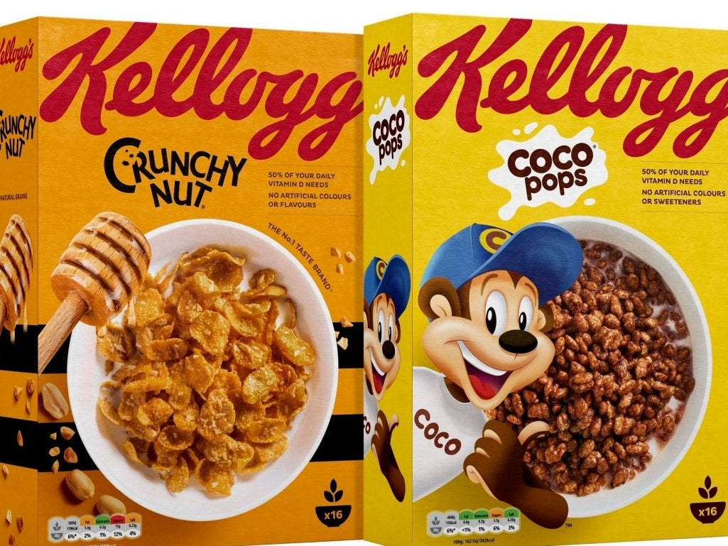 kellogg's to introduce 'traffic light' labels on most uk cereal