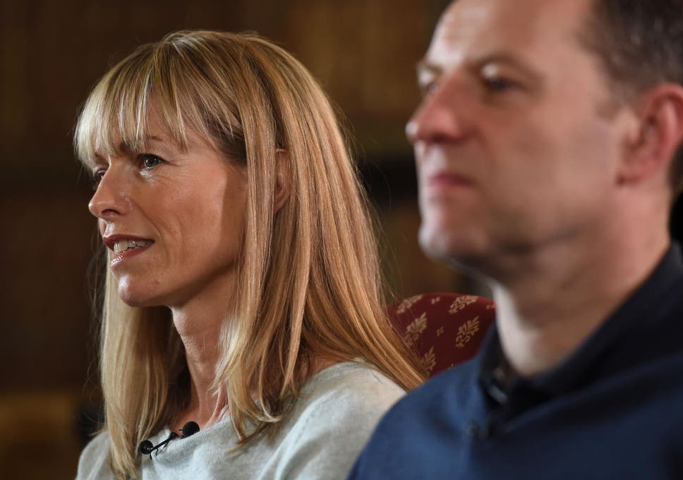Kate and Gerry McCann lose High court battle over cancellation of Leveson..... Kate-gerry-mccann