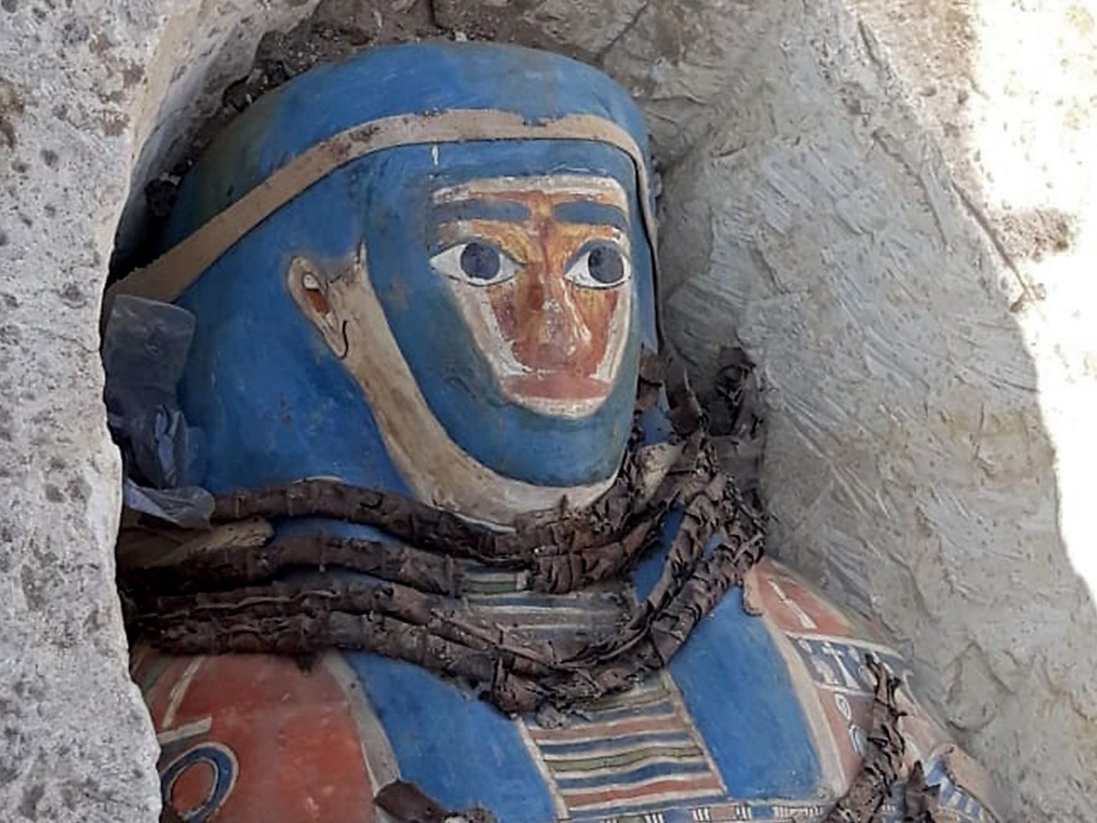 Archaeologists discover eight ancient mummies in Egypt