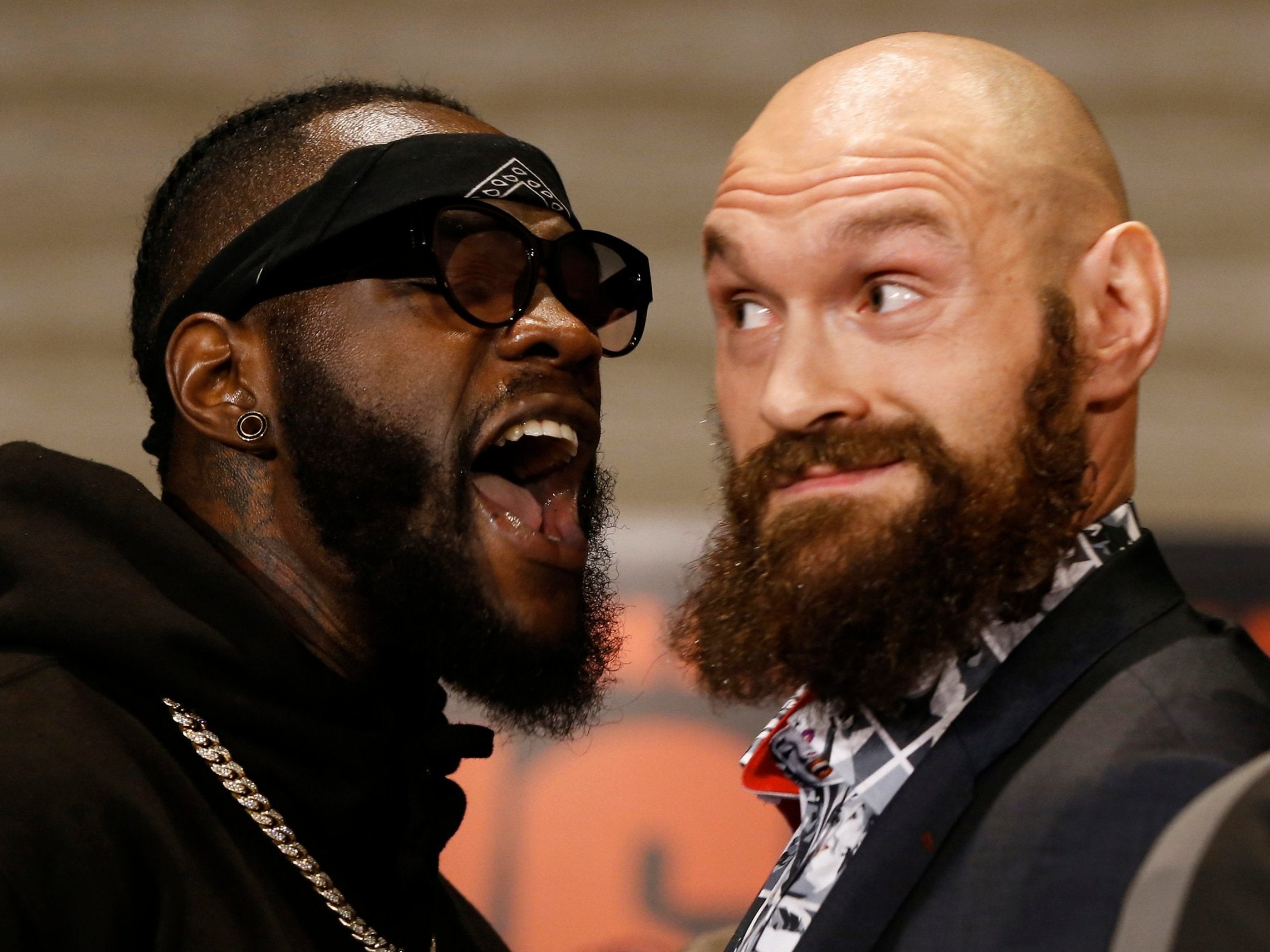 Tyson Fury vs Deontay Wilder fight prediction: What will happen in WBC title clash on Saturday night        Shape    Created with Sketch.                                                                                                        Every single one of Tyson Fury's professional fights        Shape    Created with Sketch.                                                                                                        KO, points or draw? Expert predictions for Fury vs Wilder