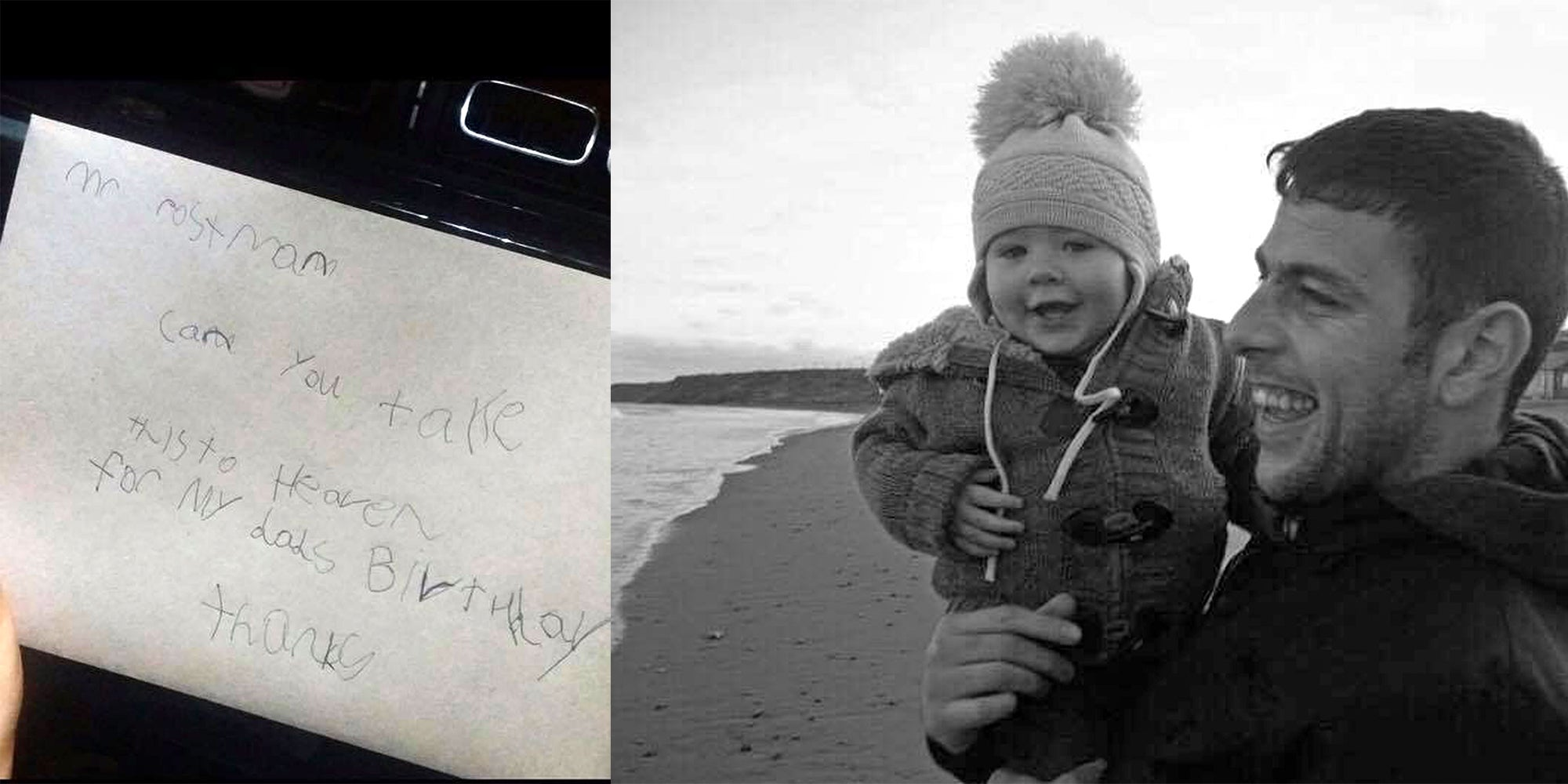 Royal Mail Send Heartwarming Reply To Boy Who Sent A Birthday Card His Dad In Heaven