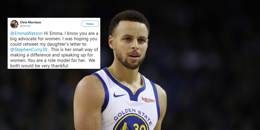 online retailer eccd5 c1770 Steph Curry helped a young fan who called him out for not ...