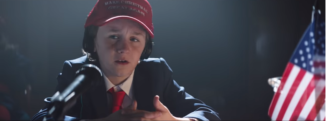 3a7d1c26136 Air New Zealand releases Christmas ad mocking Donald Trump
