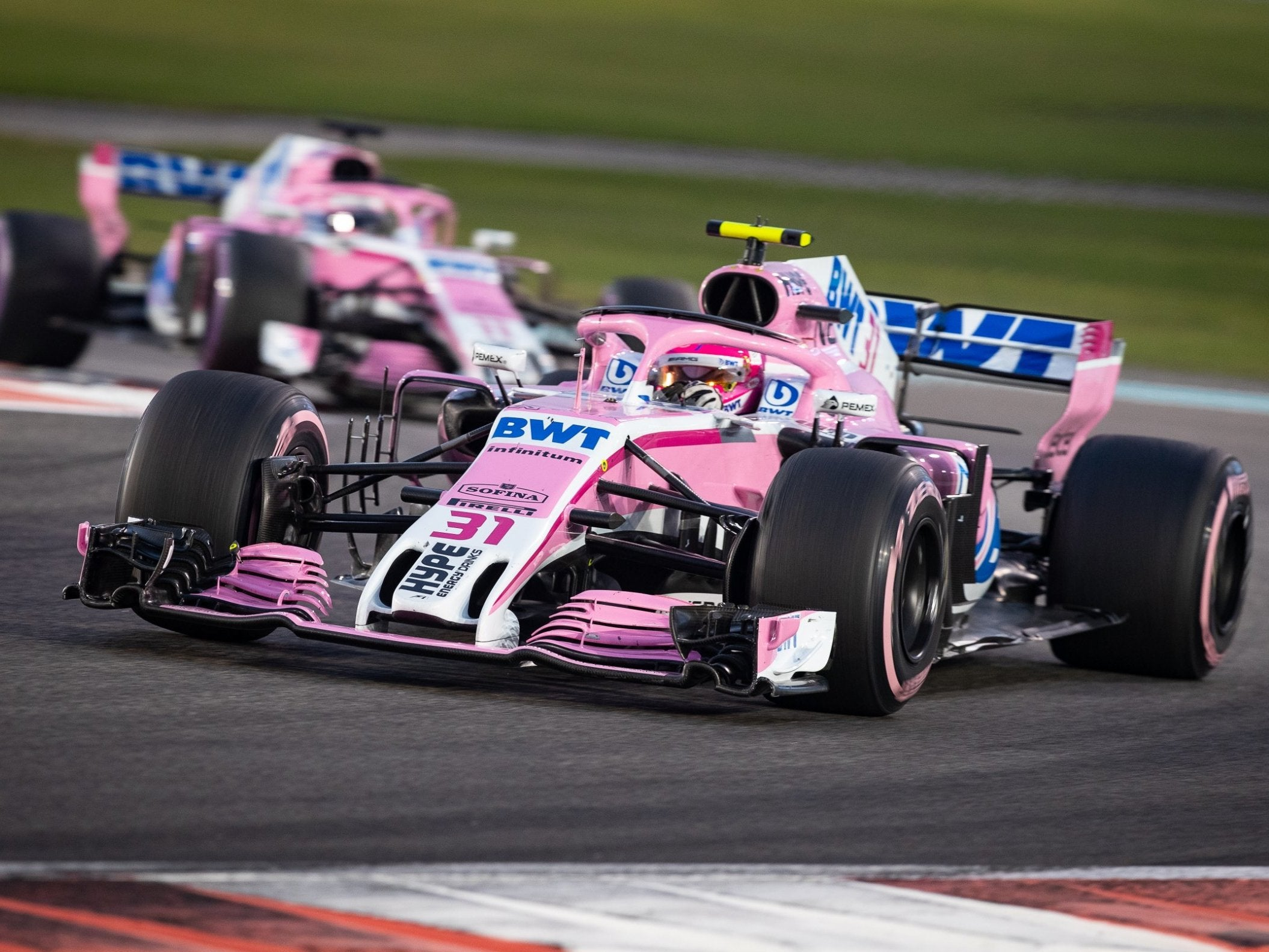 Force India Name To Disappear From 2019 Grid After Racing Point F1 Rebrand As Driver Numbers Unveiled The Independent The Independent