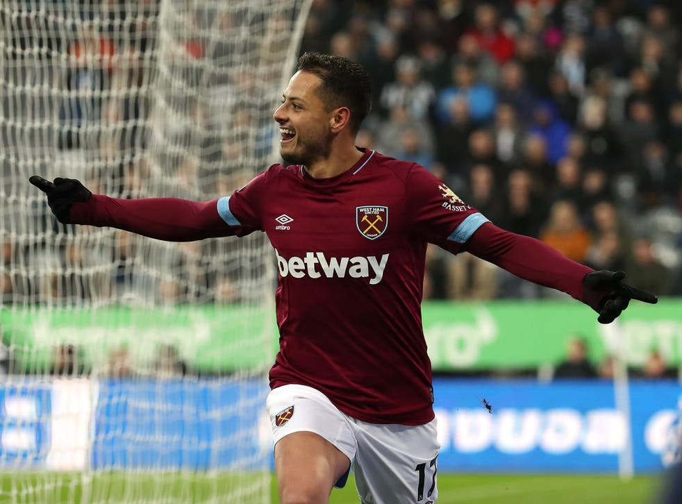 Javier Hernandez inspired the Hammers to a comfortable victory