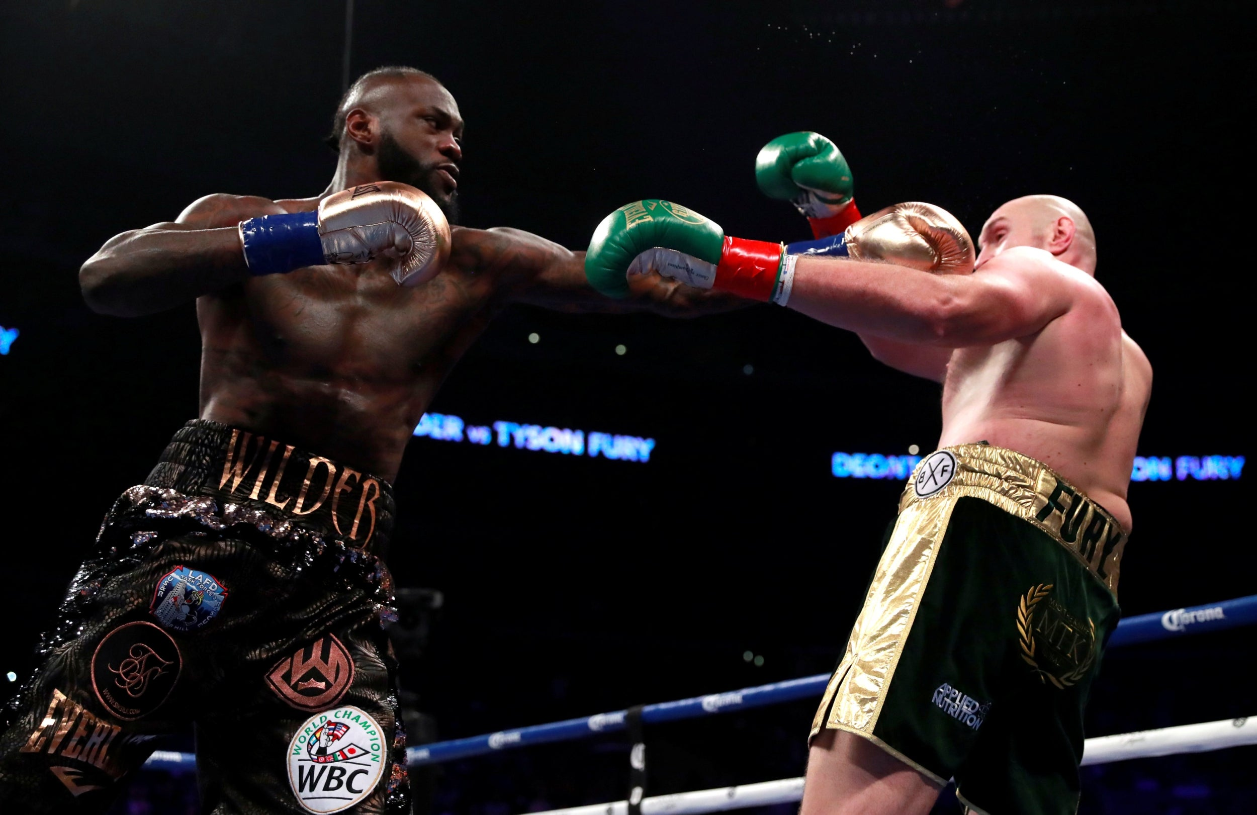 Tyson Fury declares Deontay Wilder the 'biggest puncher in