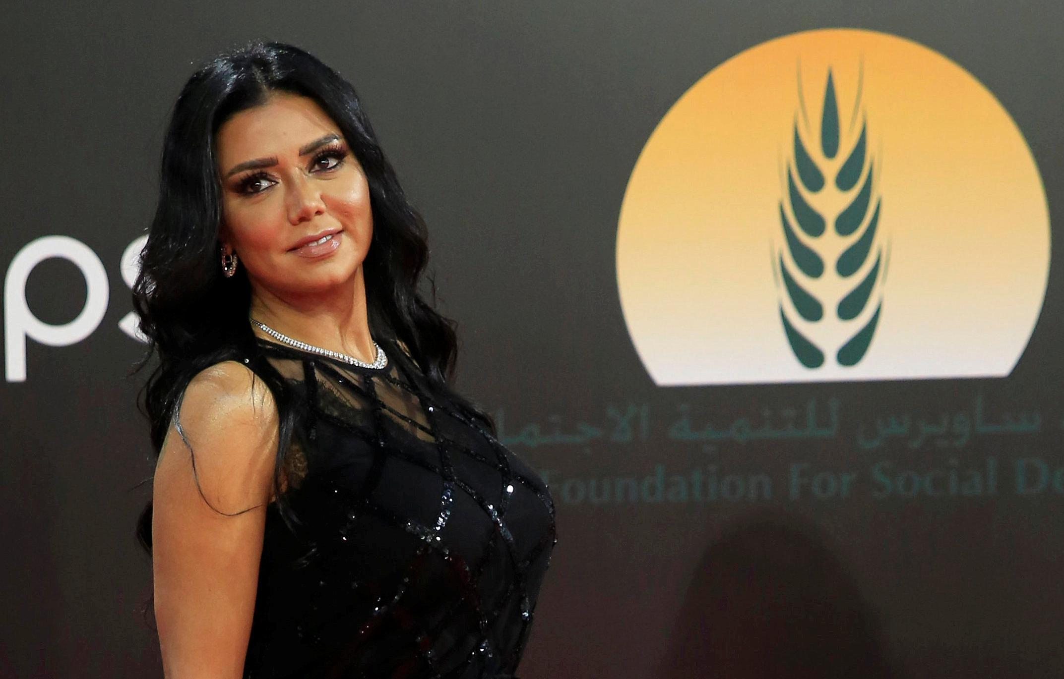 Egyptian actor Rania Youssef charged with public obscenity after wearing 'revealing' dress at film festival