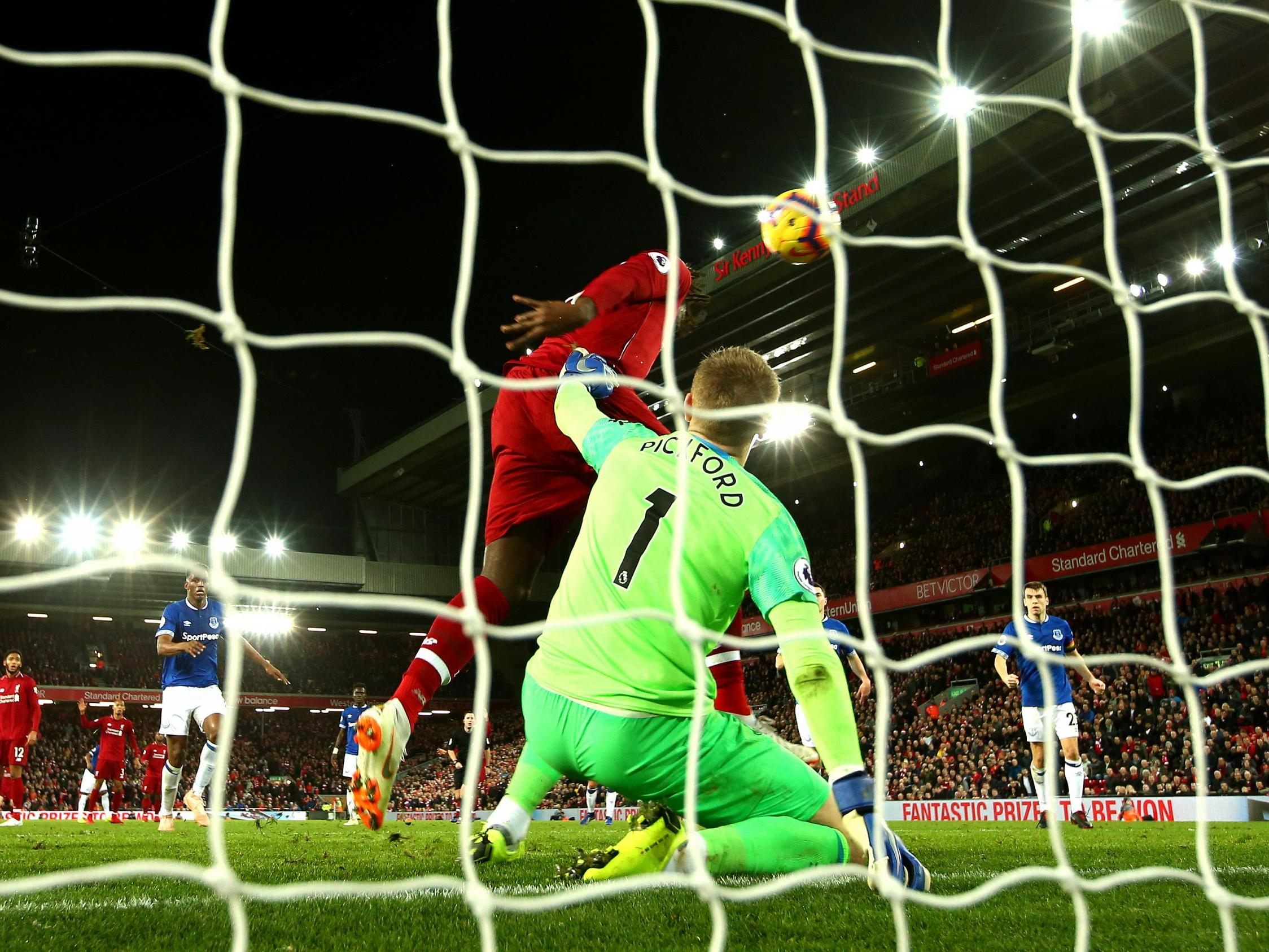 Liverpool Vs Everton The Anatomy Of A Freak Derby Winning Goal As Seen Through The Eyes Of Its Protagonists The Independent The Independent
