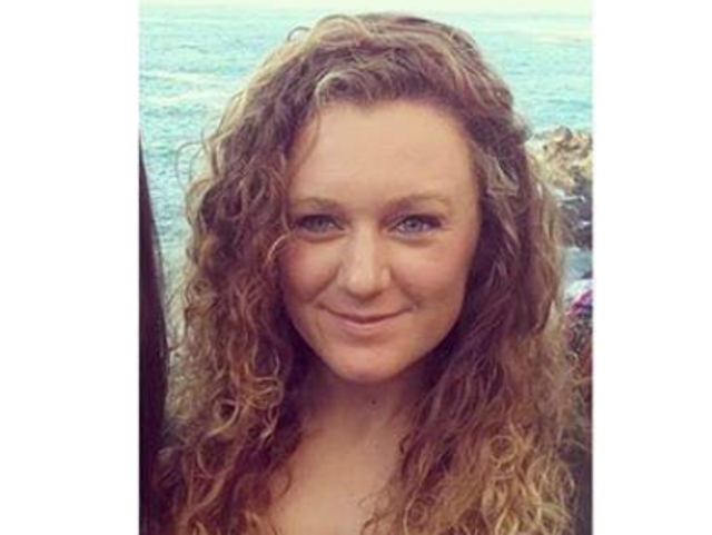 A missing person poster featuring Amy Gerard's picture is being circulated