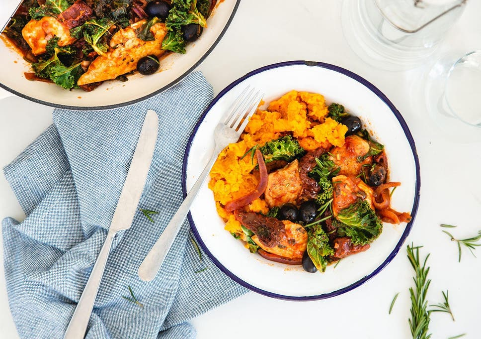 How To Make Chicken Cacciatore With Sweet Potato The Independent