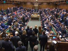 'Arguable case' government guilty of contempt of Parliament - Bercow