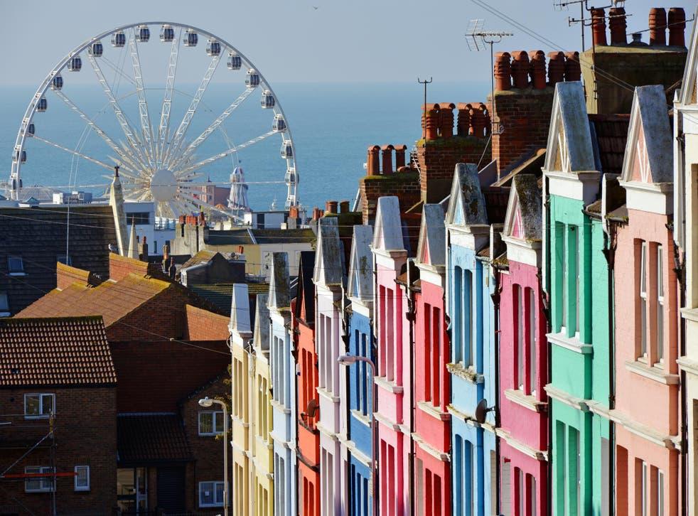 Brighton has always drawn a stream of visitors