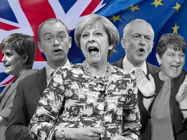 The social geography of the 2017 general election was shaped by attitudes towards Brexit