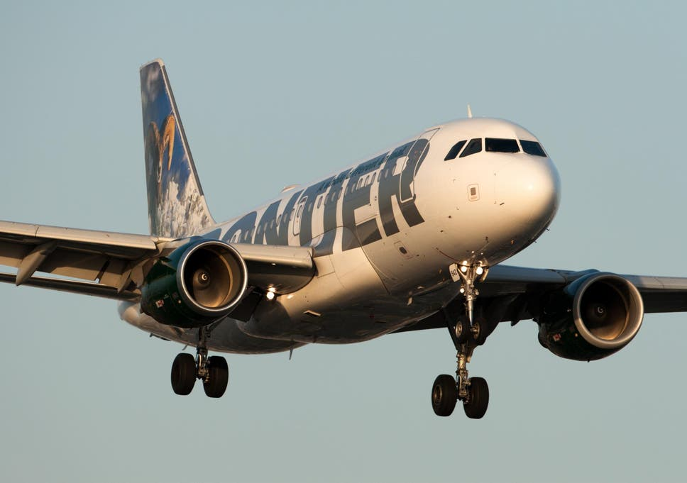 Passengers left screaming on Frontier flight after engine
