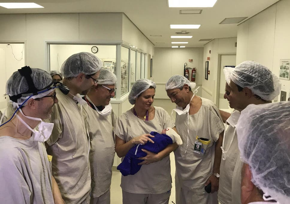 Baby girl becomes first born after womb transplant from