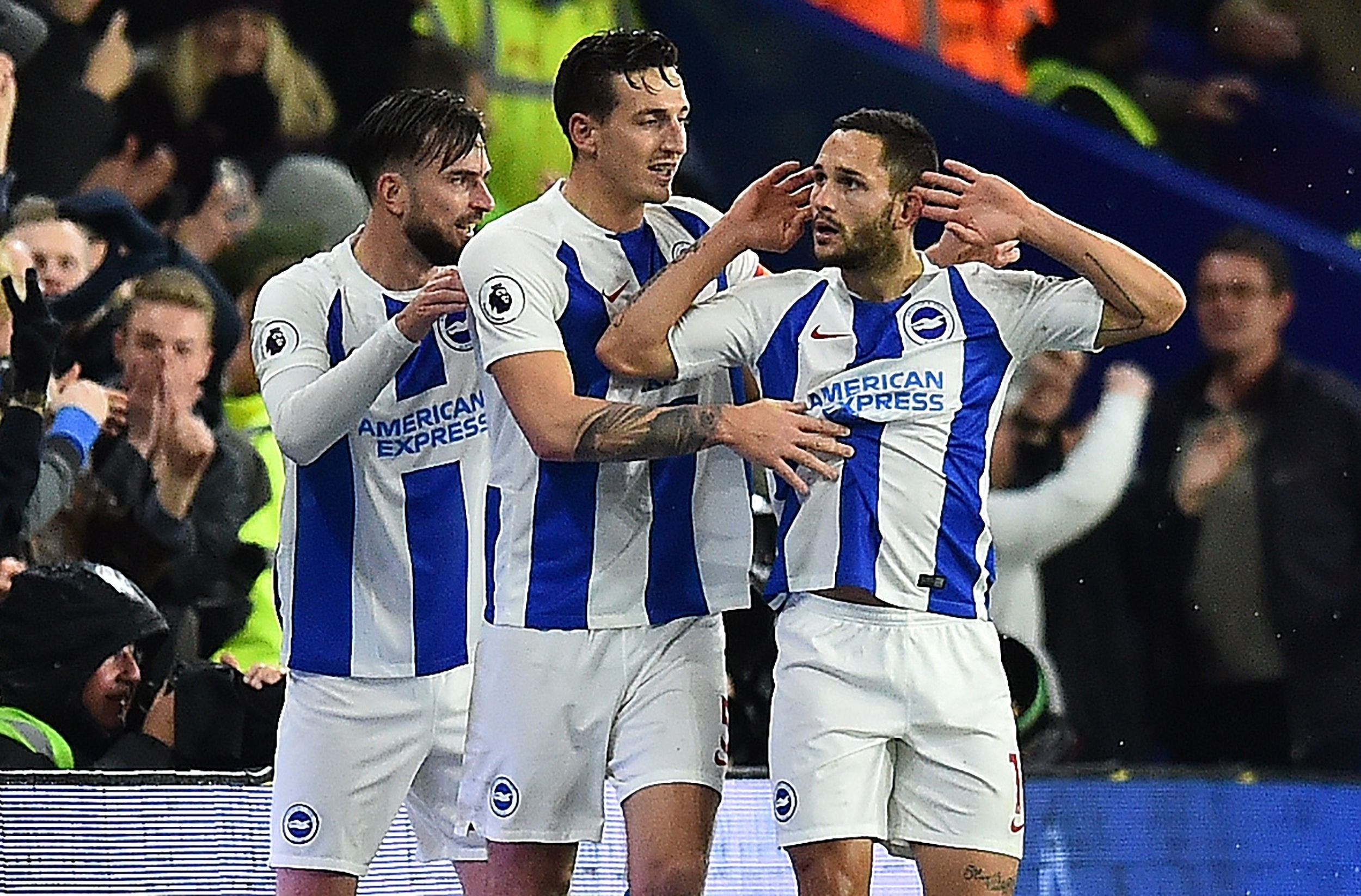 Brighton vs Crystal Palace: Ten-man Seagulls out-bully rivals in bitter encounter