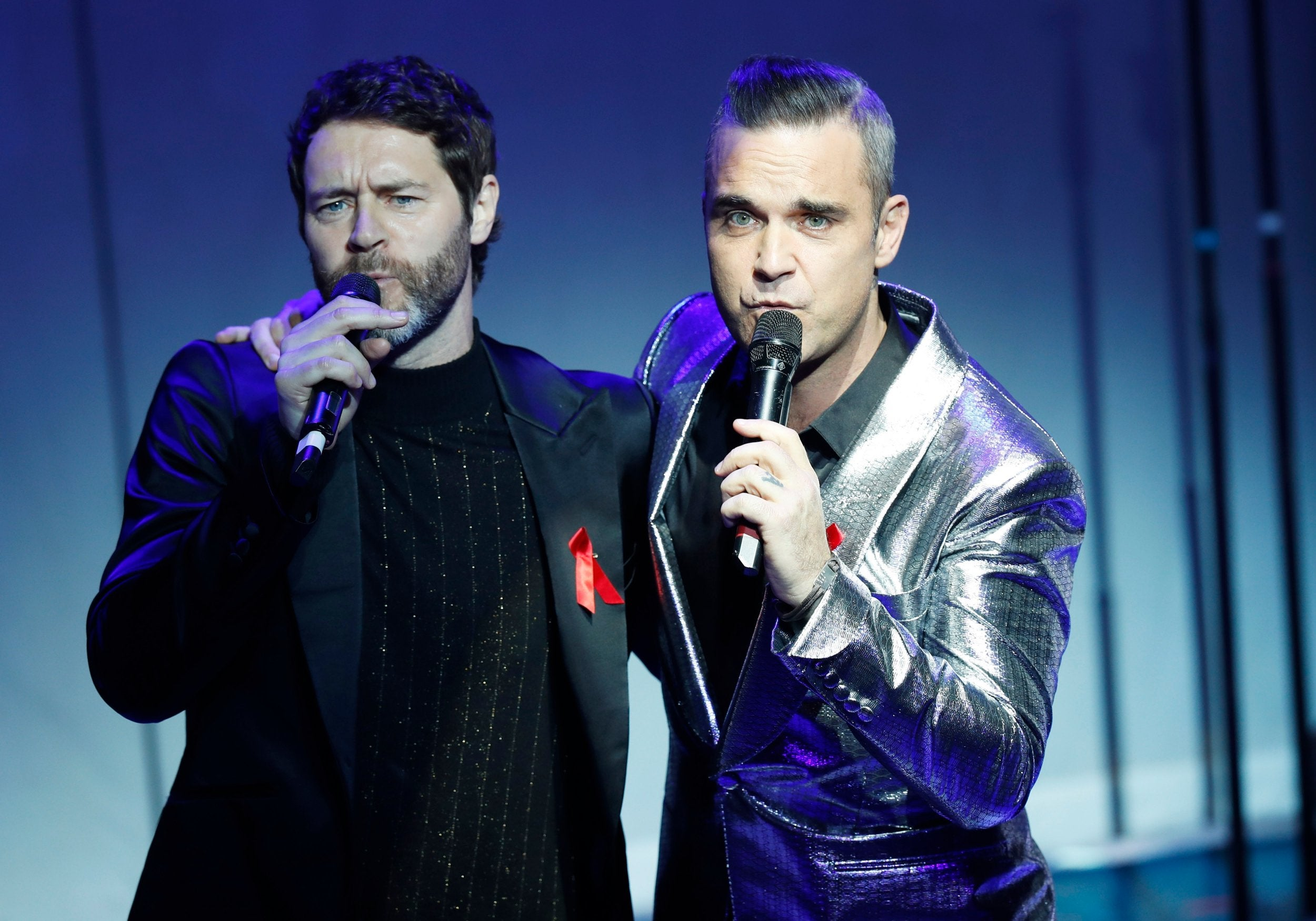 Take That gala lights our Christmas charity appeal fire and raises £500,000 #AIDSfree