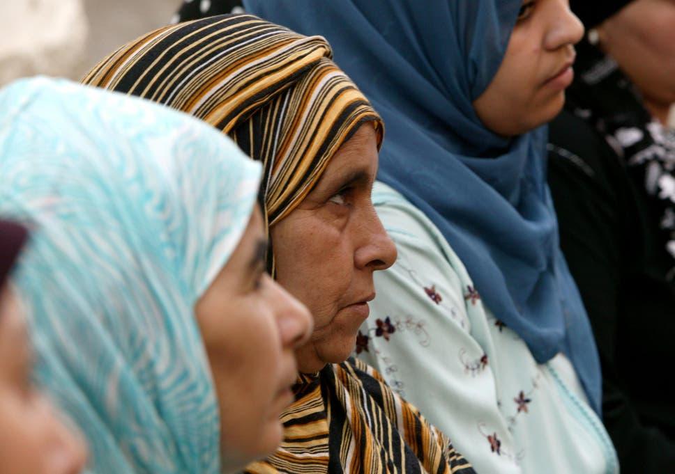 Women attending an HIV awareness programme in Agadir, Morocco