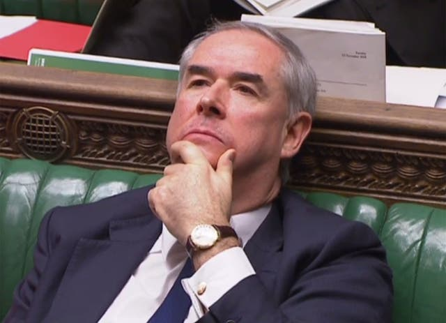 Geoffrey Cox has found himself in the growing dictionary of Brexitisms