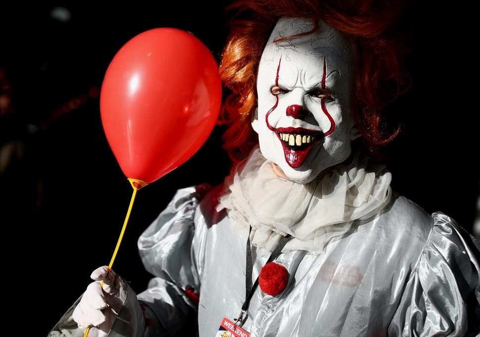 Swedish Police Hunting For Man Dressed As Clown Who Scared