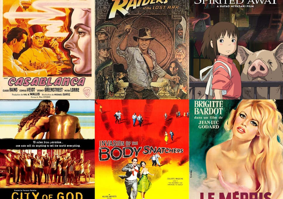 42 films to see before you die, from Spirited Away to Before Midnight